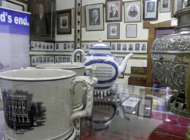 Original Display Room est 1927 showing some of the  objects