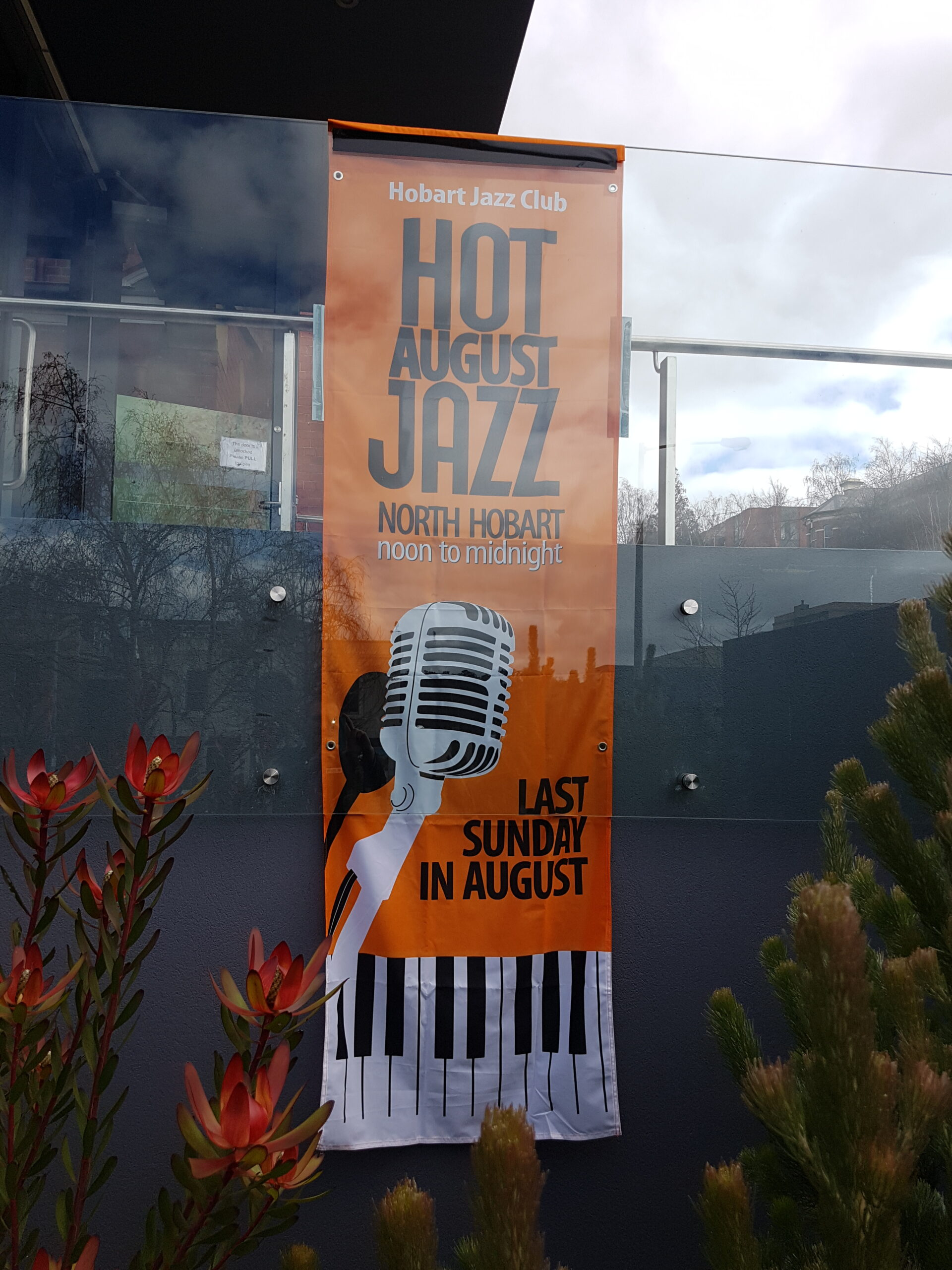 Proud to Host Hot August Jazz Each Year