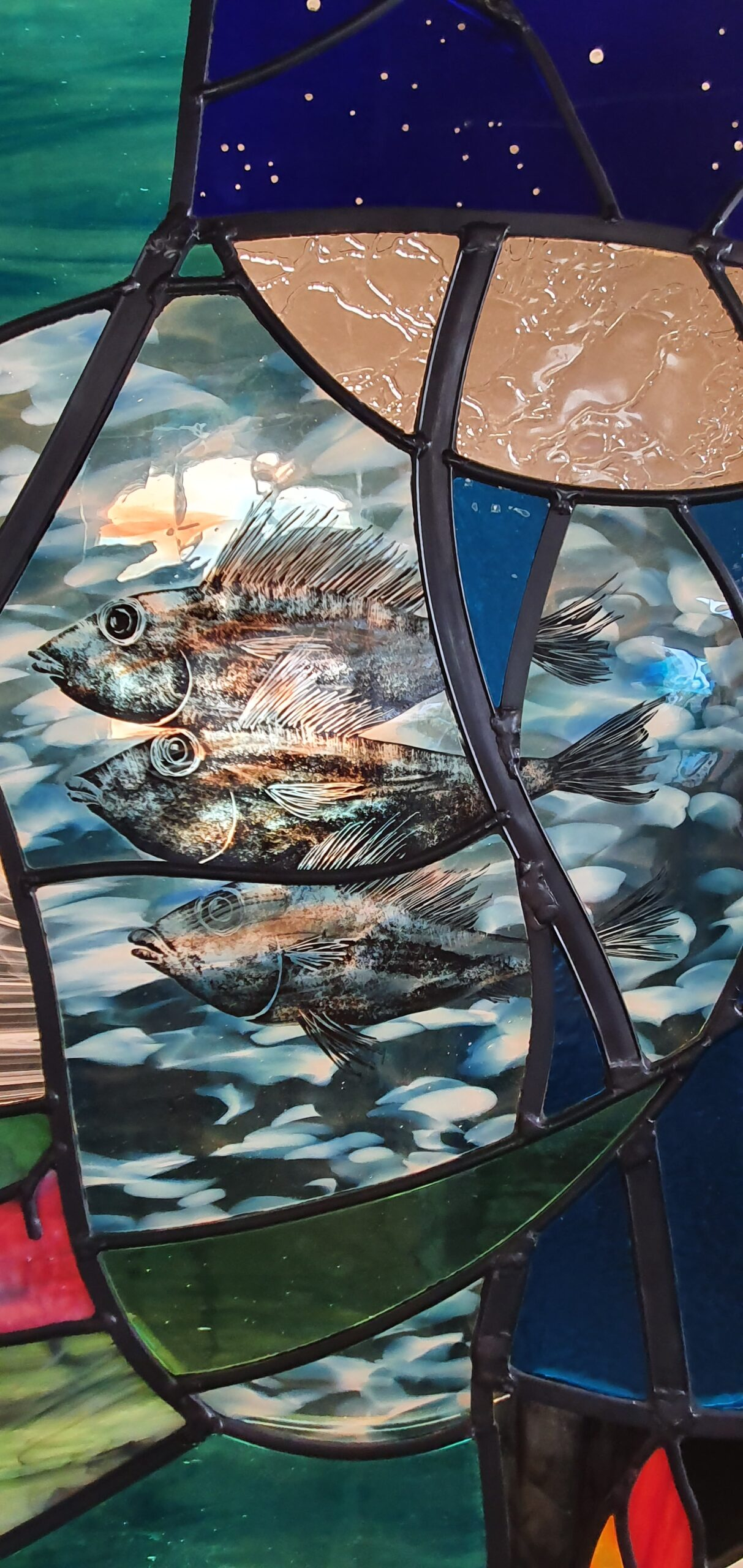 Stained Glass Window - Fishers of All