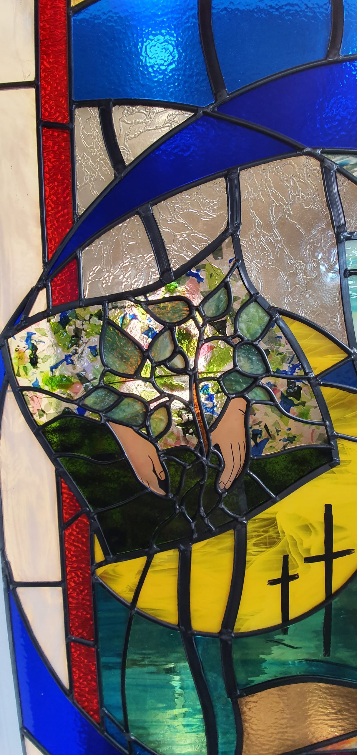 Planting A Future in North Hobart - Stained Glass Window